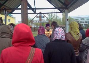 молебен в Простоквашино